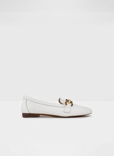 Aldo Gaulith-Tr - Beyaz Kadin Loafer Ayakkabi Beyaz